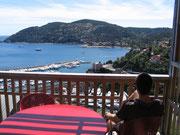 Genusshafter Blick auf die Cote d'Azur