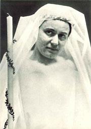 Edith Stein nel giorno della vestizione