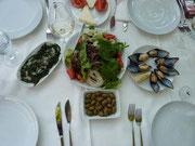 Fischessen in Fethiye