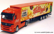 1-87 Trucks Holland-Oto (Mercedes Actros) Kellogs 1:87