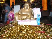 Affirmationen mit Buddha