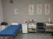 Behandlungsraum der Naturheilpraxis Bochum
