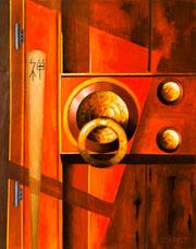 The  gateless gate . Koan Hegikan roku. Oil on canvas. 1mx80cm.