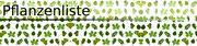 Pflanzenliste