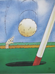『ゴルフの本』25ページ目