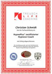 Christian Schmidt in Saarlouis im Saarland ist zertifizierter Hypnosecoach