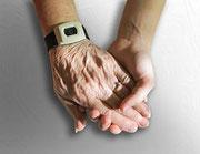 Toucher et être touché est indispensable tout au long de notre vie