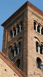 Kirchturm in Ravenna