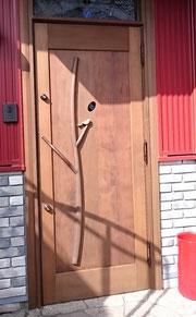 木製 玄関戸