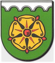 Poppenburger Rose Wappen von Wennigsen