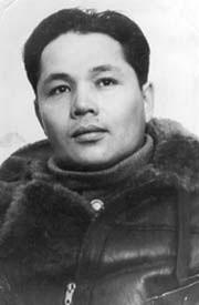 летчик В.Кузмин 1945 год