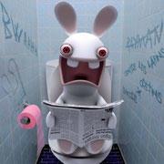 Bienvenue au club des lapins crétins !