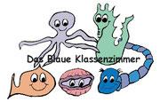 Blaues Klassenzimmer-Logo
