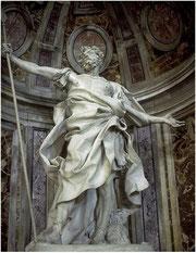 Bernin, Saint Longin, Saint-Pierre de Rome, Vatican, copyright : M.Lefftz