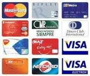 Puede pagar con su tarjeta de credito.