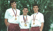 1988 Seoul: Hungary win team and Janos Martinek (HUN) individual gold