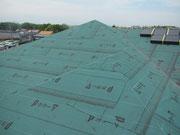 屋根防水施工確認
