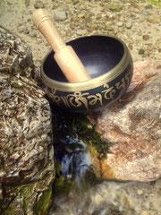 Ritual bei der Irlmaier Quelle