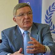 Robert Hertzog, Professeur émérite en droit public à l'Université de Strasbourg.