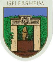 Das Wappen der Ortschaft Iselersheim