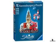 Empfehlung Ravensburger Silhouette-Puzzle Big Ben London (16155)