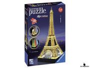 Empfehlung Ravensburger 3D-Puzzle Eiffelturm bei Nacht (12556)