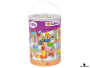 Empfehlung Eichhorn, Color Bausteine Set 100 Stück