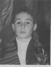 Presidente Infantil 1961 Vicente Mata