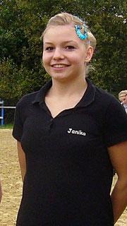 Jani bei der Meisterehrung in Herne, 2009