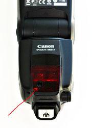 Canon Speedlite 580EX II датчик