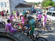 cool les cyclistes locaux ...