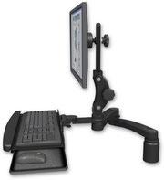 ICWUSA UL550シリーズ デスクマウント モニターアーム ディスプレイキーボード用