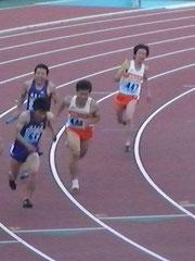 男子4×100mR 3走・高岩から4走・田村へ!