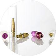 Moderne und zertifizierte Implantate
