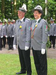 Bremervörder Schützen in vorschriftsmässiger Uniform