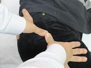 梨状筋のトリガーポイント療法