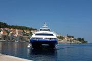 Katamaran speed boat  Korcula Dubrovnik