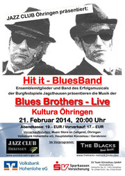 Plakat Hit-It-BluesBand