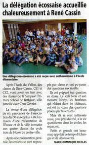 L'Essor Savoyard - 6 octobre 2011