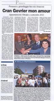 L'Eco del Chisone - 13 avril 2011