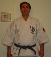 Shihan Luis Pedruco fondatore della seigokan in Brasile