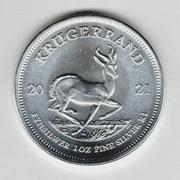 Investieren in das Edelmetall Silber Krügerrand 1 Unze (Rückseite)