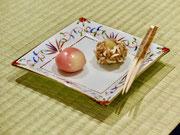 季節の茶席和菓子