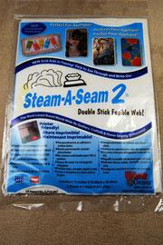 Bügelvlies aufbügeln ohne nähen mit Steam a Seam 2