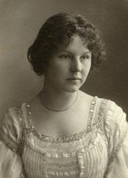 Lorle Meissner, Tochter von Helene Vischer, Konzertsängerin (1880-1948)