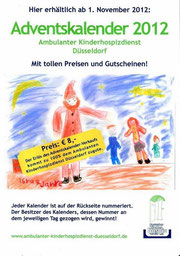 Adventskalender 2012 Ambulanter Kinderhospizdienst Düsseldorf