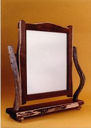 Gidgee table mirror