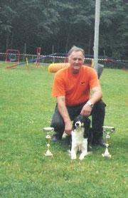 Pokale beim Turnier in Petingen