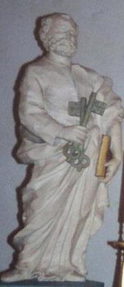 San Pietro prima del restauro