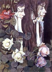 Stanisław Wyspiański, Portret podwójny Elizy Pareńskiej